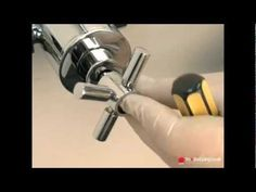 How to calibrate a tech style shower handle