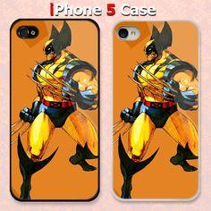 Wolverine Superhero Custom iPhone 5 Case Cover