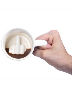 Cheap coffee milk cup, Buy Quality milk cup directly from China cup funny Suppliers: Creative White Middle Finger Style Cup Novelty Mixing Coffee Milk Cup Funny Ceramic Mug Enough Capacity Water Cup Drop Shipping Coffee Milk, Milk Cup, Coffee Cups, Coffee Gifts, Tea Cups, Decoration Originale, Novelty Mugs, Ceramic Materials, The Middle