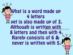 Word riddle games i am an odd number riddle games number and fun word riddles what is a word made up 4 letters planetlyrics Image collections