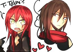 Katarina and Talon