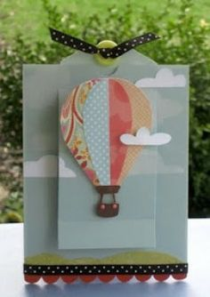 Homemade Hot Air Balloon Greeting Cards Ideas: Birthday, Pop Up, and More