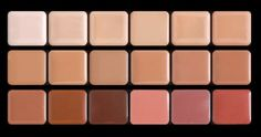 Graftobian offers our HD Glamour Creme Palette and Lip Colors in this artist friendly Super Palette shade) Configuration for convenience and variety. Hd Makeup, Free Makeup, Makeup Cosmetics, Makeup Stuff, Beauty Stuff, Makeup Ideas, Beauty Makeup, No Foundation Makeup, Concealer