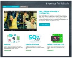 Evernote for schools; an article from Tech & Learning Evernote, Nursing Schools In Florida, School Site, Web 2.0, Pediatric Nursing, Technology Integration, Ipad, Mobile Learning, Teaching Strategies