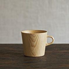 Wood element cup ~ Kami Wood Mug by Muhs Home