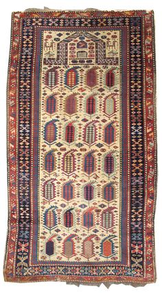 Akstafa Prayer Rug, mid 19th C.