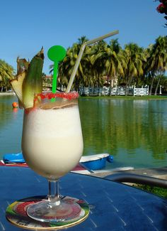 Did you know that the birthplace of the Piña Colada was Puerto Rico? - During your next trip to San Juan, Puerto Rico, make sure to drop by the Barrachina, which is the birthplace of the Piña Colada. Try one of these amazing drinks and also take a photo of the plaque honoring this drink's birth that is right outside the restaurant. (https://www.facebook.com/TravelingWarrior) #attractions #SanJuan #travel