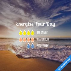 Energize Your Day - Essential Oil Diffuser Blend