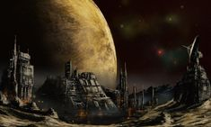 The Outer territories- moon foundry by derbz