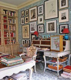 Interior design by Charlotte Moss.