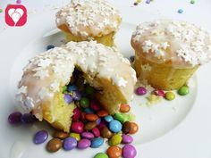 PInata Muffins mit Smarties