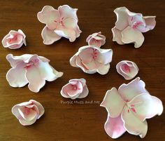 Cherry Blossom Foam Flower tutorial