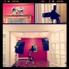 Sneaking a peek at the photo session! #PhotoFridays