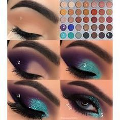 15 Easy & Gorgeous Makeup Looks For Beginners - Samantha Fashion Life - 15 Egg . - 15 Easy & Gorgeous Makeup Looks For Beginners – Samantha Fashion Life – 15 Simple And Gorgeous - Eye Makeup Steps, Makeup Eye Looks, Blue Eye Makeup, Cute Makeup, Eyeshadow Looks, Gorgeous Makeup, Makeup Eyeshadow, Makeup Light, Glitter Makeup