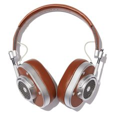 """These noise-isolating headphones comfortably insulate you from the world (M&D calls them """"modern thinking caps""""), making the rich, warm sound quality even m"""
