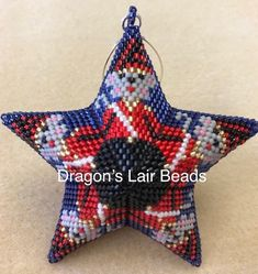Dragons Lair Beads Beaded Stars