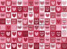 motif coeur: Seamless des c?urs pour la Saint-Valentin Illustration