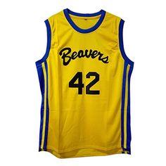 72974da8fbb4 MOLPE Scott Howard  42 Teen wolf Beavers Basketball Jerse... Basketball  Jersey