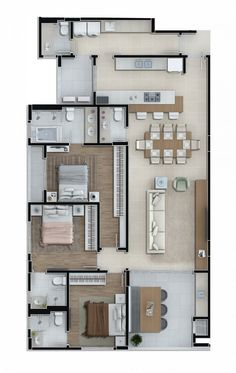 House Layout Plans, New House Plans, Dream House Plans, House Layouts, House Floor Design, Bungalow House Design, Small House Design, Cool House Designs, Luxury Houses