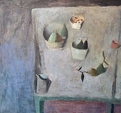 The paintings of Nicholas Turner RWA reflect a gentle disposition and a poetic modesty. the work of Nicholas Turner is subtle and reminds us of the fundamentals of life. Still Life Artists, Painting Still Life, Modern Coastal, Life Inspiration, Art Google, All Art, Painting & Drawing, Fine Art, Abstract