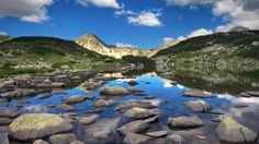 bulgaria scenery | Glacial Lake Zabecko in the National Park Pirin