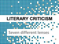 an introduction to different approaches to literary criticism Used in reference to different historical charles e literary criticism: an introduction to a handbook of critical approaches to literature.