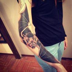 Amazing Bat Tattoos for Men