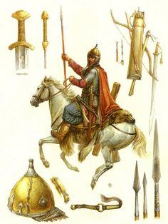 Kievan Rus warrior