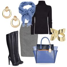 light spring colors winter work outfit