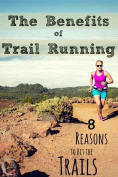 It's easy to understand why so many people take to #running on the roads; it is convenient.  But there are a number of reasons why it may be worth taking the extra time to occasionally seek out a trail instead.   Whether it is a technical trail on a mountain side, or a wide, well groomed trail in a quiet park, here are 8 reasons why you should take your miles off of the pavement, at least some of the time, and reap the benefits of trail running.  #TrailRunning #RUN