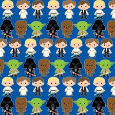 Kid wars navy fabric by michellelynnt on Spoonflower - custom fabric