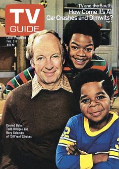 TV Guide Magazine Celebrates Gary Coleman : Conrad Bain, Todd Bridges and Gary Coleman grace the cover of the March 1979 issue. Black Tv Shows, 80 Tv Shows, Great Tv Shows, 1970s Tv Shows, Todd Bridges, Black Sitcoms, Tv Land, Vintage Tv, Batman Tattoo