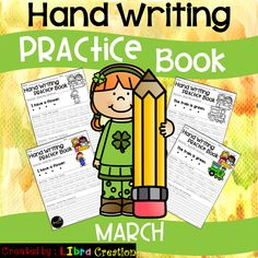 Inside you will find: - 20 pages of Hand Writing Practice BW version. - 20 pages of H Fluency Practice, Writing Practice, Teaching First Grade, Teaching Kindergarten, Teaching Ideas, 1st Grade Activities, Fun Activities, Free Education, Special Education