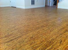Cork Floor striata texture