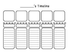 Timelines  Timelines are a great way to organize data. This is a great extension activity after learning about timelines or it can be used as a beginning of the year get-to-know-you activity.