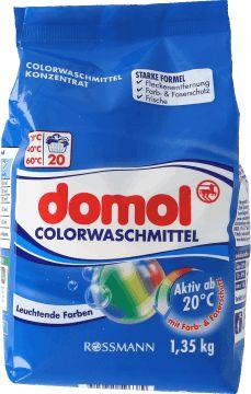 domol,  proszek do prania ubrań kolorowych, 1,35 kg, nr kat. 155261
