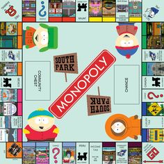 Monopoly: South Park Edition by SkyRider747.deviantart.com