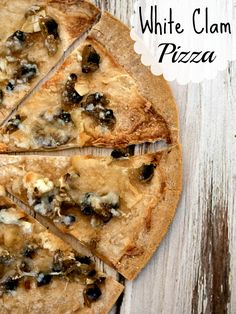 White Clam Pizza Recipe #15MinuteSuppers