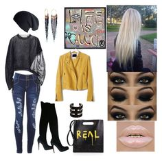 """""""I want to wear this"""" by mcgoverncaitlinl on Polyvore featuring NAKAMOL, Gucci, Christian Louboutin, Banana Republic, Marni and Black"""