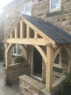 In need of a brand new green oak porch? Why not get in touch today.