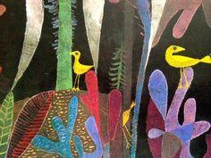 Reproduction Haut de Gamme Nouveau Poster Poster 13 x 13 cm Landscape with Yellow Birds de Paul Klee