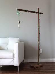 Image result for diy floor lamp