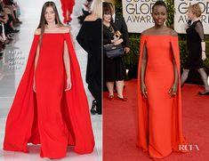 Lupita Nyong'o In Ralph Lauren – 2014 Golden Globe Awards