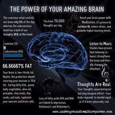 The Power of the Amazing Brain #BrainFacts #BrainHealth #health #wellness