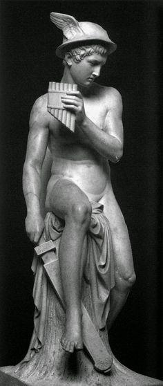 TICMUSart: Mercury Preparing to Kill Argus - Bertel Thorvaldsen (1818) (I. M.)