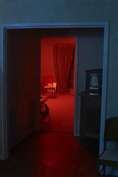 """She stopped at the door. Inside was red light. """"What happened?"""" She whispered. She looked for clues and that's when she saw it. A dead body on the floor. """"Finally you have arrived,"""" a voice said. Catney"""