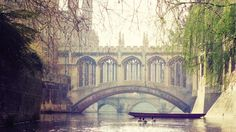 #Cambridge, #UK ... Gorgeous city featured in my #Adventures #hackgate screenplay  image via @Ltd_To_Two on @twitter  The Bridge of Sighs at St. John's College, Cambridge, UK