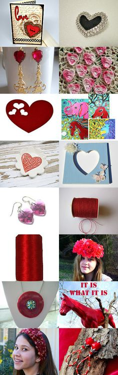 My heart is full of love by Vicky Ehrman on Etsy--Pinned with TreasuryPin.com