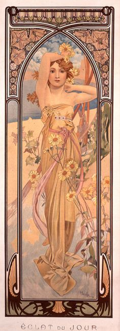 """Light of Day"" by Alphonse Mucha"