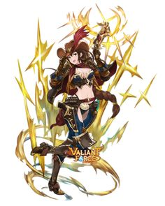 Valiant Force truly original tactics game for everyone. Singapore best mobile game into a visually stunning fantasy world of magic and epic battles. Female Character Design, Character Concept, Character Art, Concept Art, Fantasy Armor, Anime Fantasy, Fantasy Girl, Fantasy Characters, Female Characters